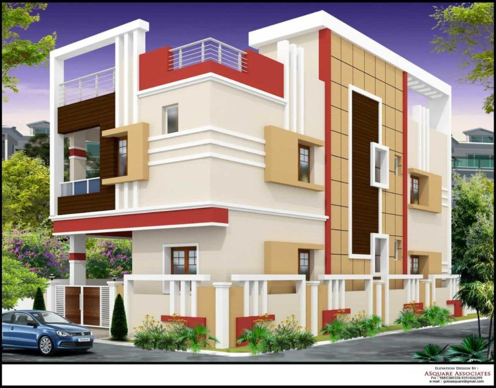 Villas for sale near by vayupuri building elevation house front design also nice on designs rh pinterest