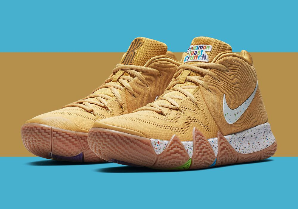 the latest 21777 0de80 Nike Kyrie 4 Cinnamon Toast Crunch. | eBay! | Crosby in 2019 ...