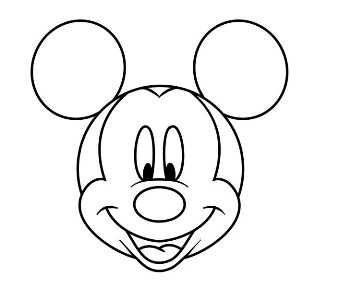mickey mouse face coloring pages printable 8 mickey mouse