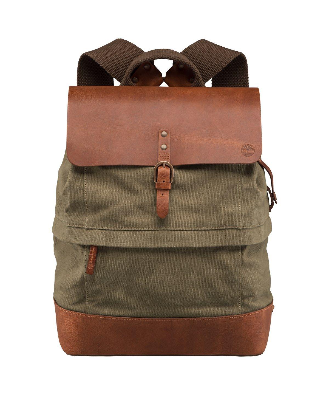 e3e92be5ac TIMBERLAND NANTASKET BACKPACK'. #timberland #bags #leather #canvas ...