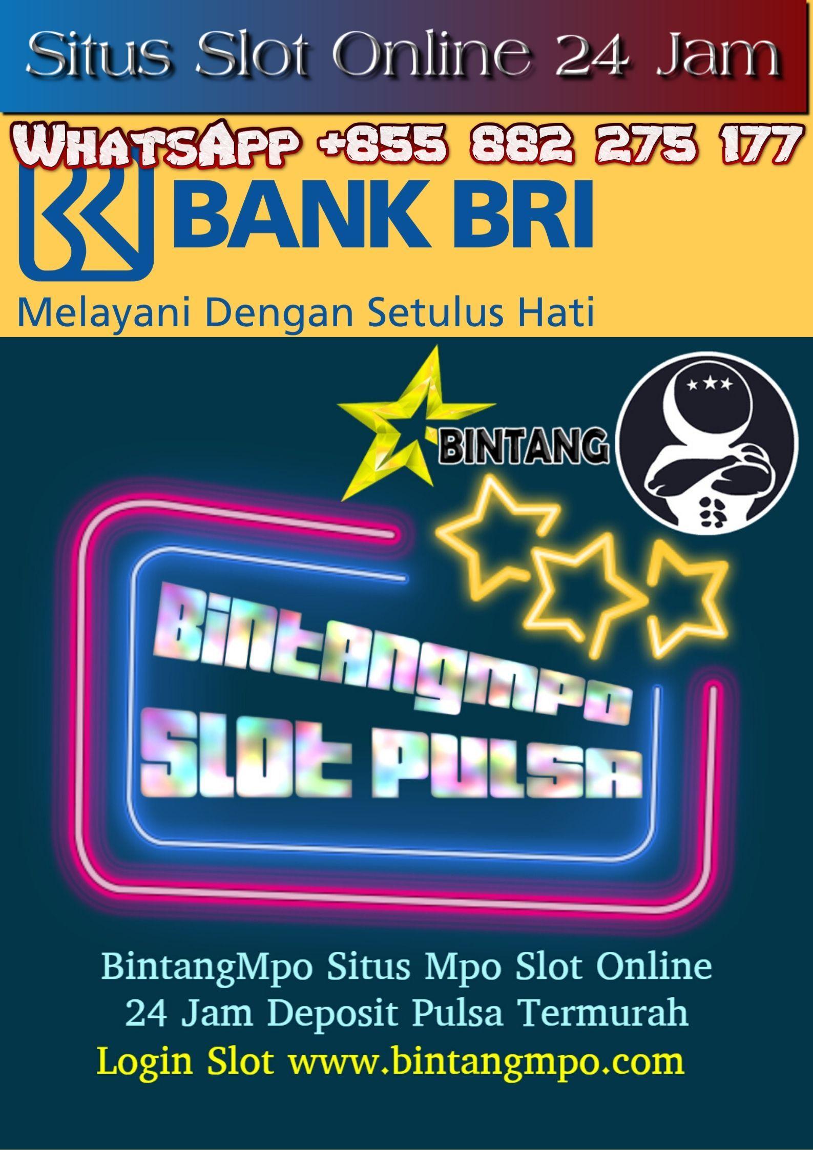 Bintangmpo Situs Slot Bri Online 24 Jam Online Games Slot Online