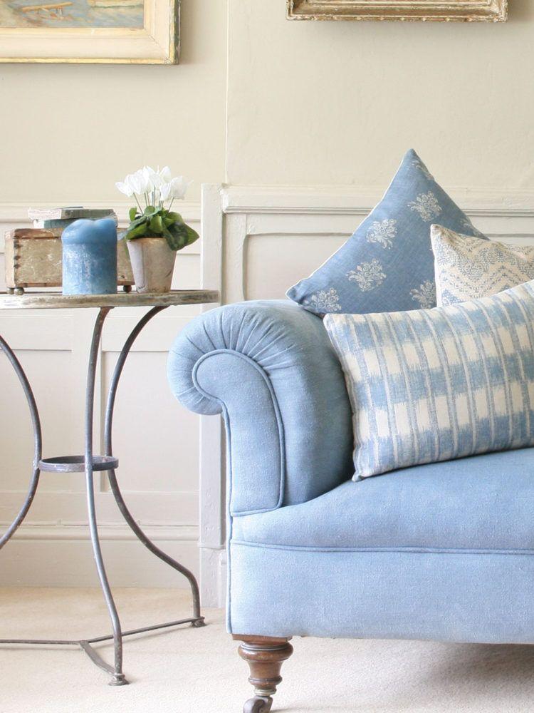 Lagoon Stonewash Sofa Blue Sofa Living Light Blue Sofa Blue Sofas Living Room