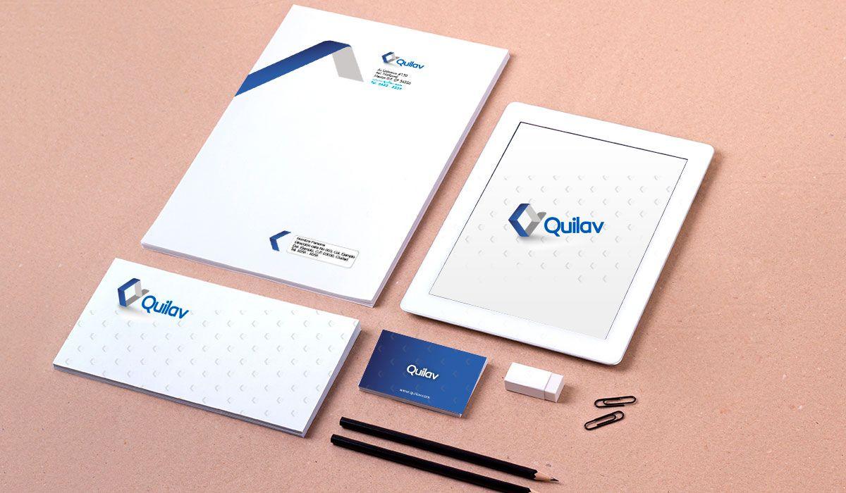Quilav dise o de logotipo para empresa de productos de for Productos de limpieza