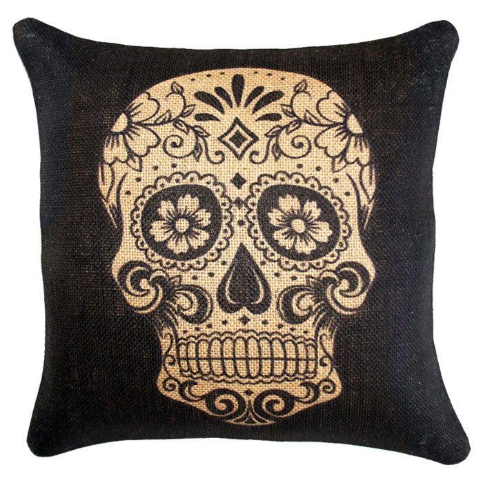 Dia de los Muertos Pillow.