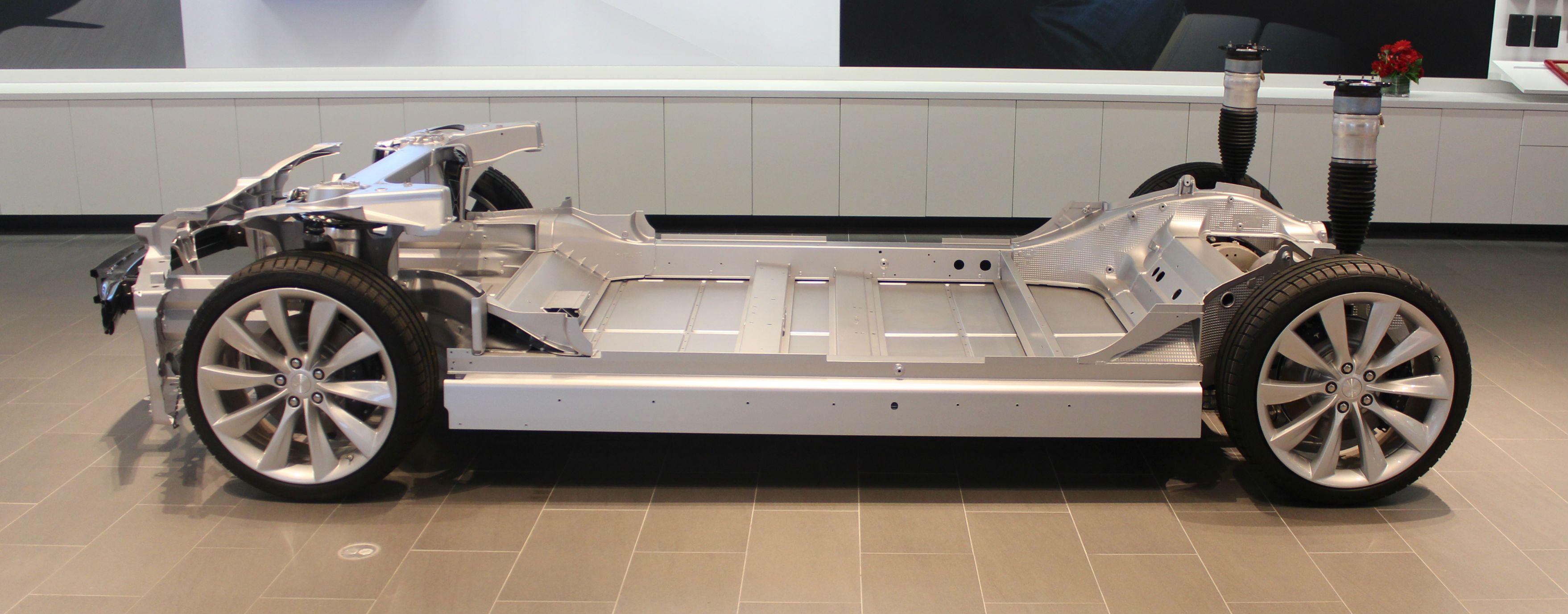 Tesla Model S Drive Train Lessonator