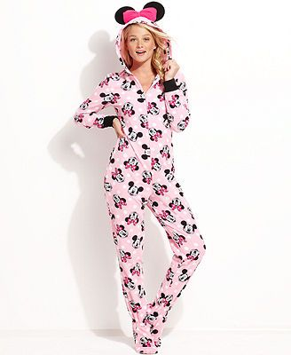 64f1a1afc620 Minnie Mouse Hooded Footed Pajamas  Erica S. (tbci) Minnie or Mickey ...