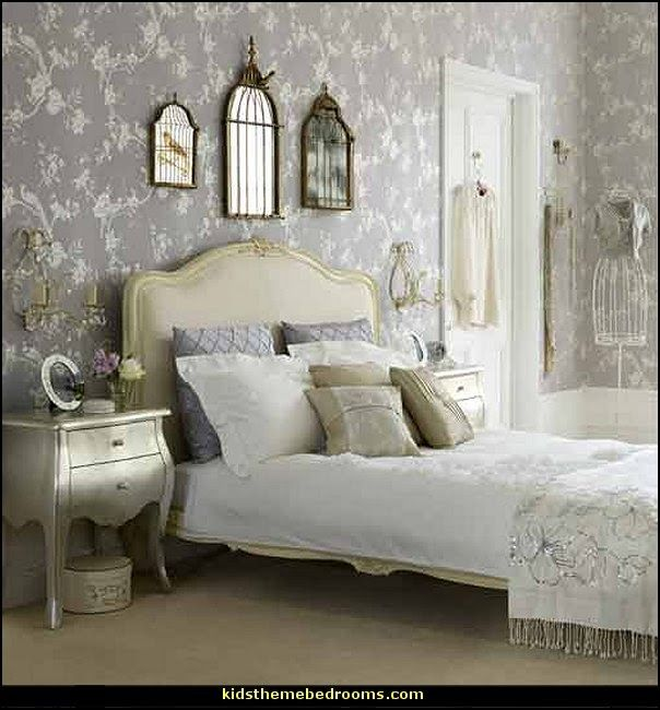 Romantic Country Victorian Decorating Teens Bedroom Decorating