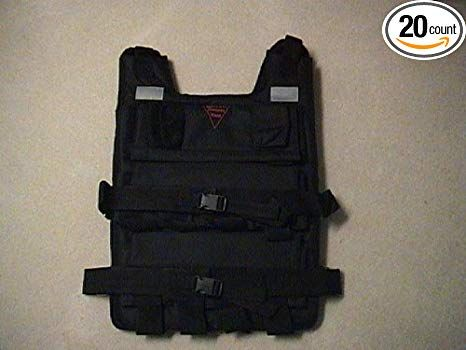 BESTCO PRODUCTS 100 Lbs.weighted Vest for Exsercise
