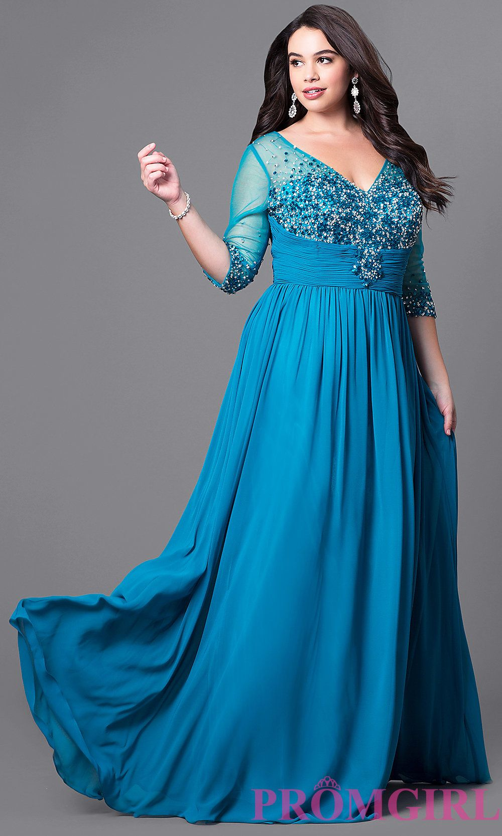I like Style DQ-8855P from PromGirl.com, do you like? | blue ...