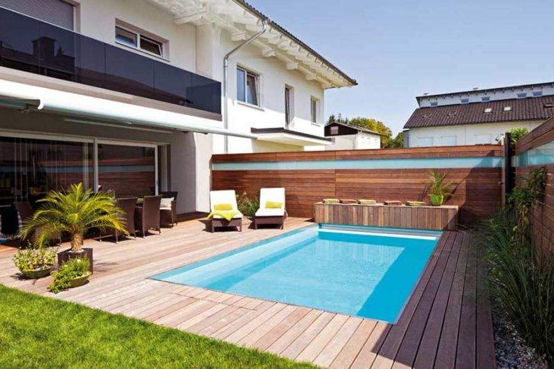 Private Swimming Pool In The Garden The Way To Your Dreams Pools