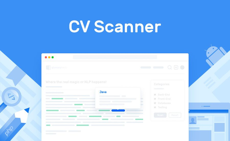 Cv Scanner Recruiting Tool For Tech Resume Analysis Tech