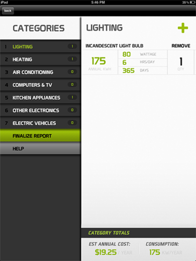 Energy Saving Apps from Scarlet Paolicchi on SC Johnson's Green Choices blog. Photo: VERDE app.