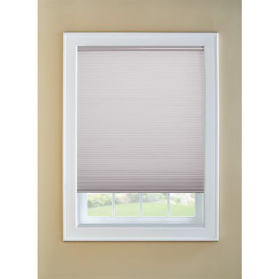 Custom Size Now By Levolor Graphite Light Filtering Cordless Polycotton Cellular Shade Cordless Cellular Shades Cellular Shades Shades Blinds