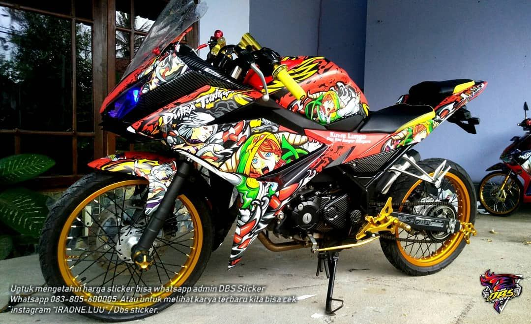 Cutting Sticker Motor Cb150r New