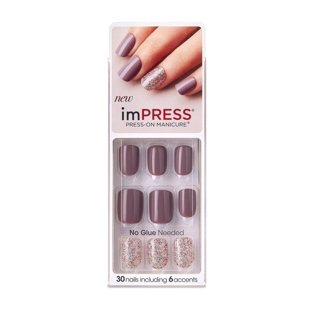 Kiss Impress False Nails Night Fever 30ct Broadway Nails Impress Nails Stick On Nails