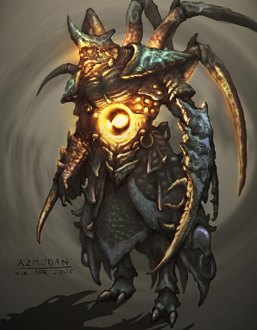 Azmodan from Diablo III Art, Character art, Game