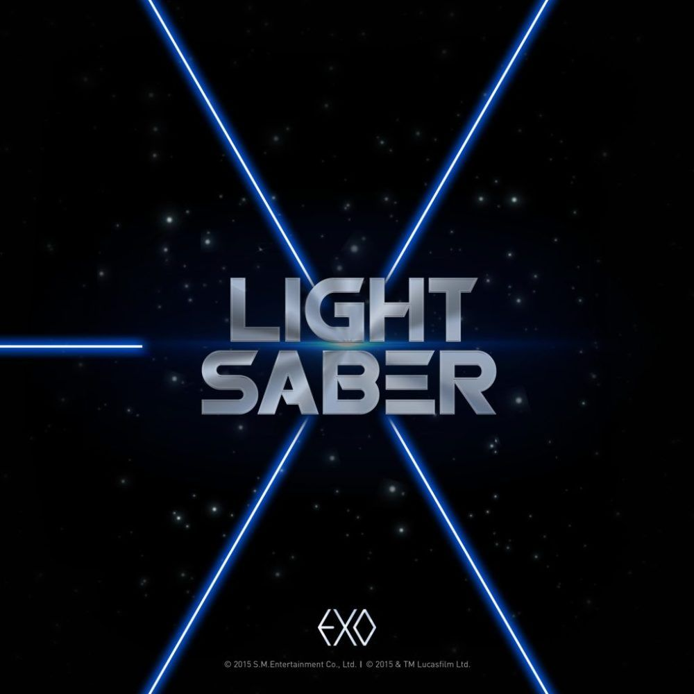Exo Christmas Album Cover.Exo Lightsaber Album Cover Kpop Albums In 2019
