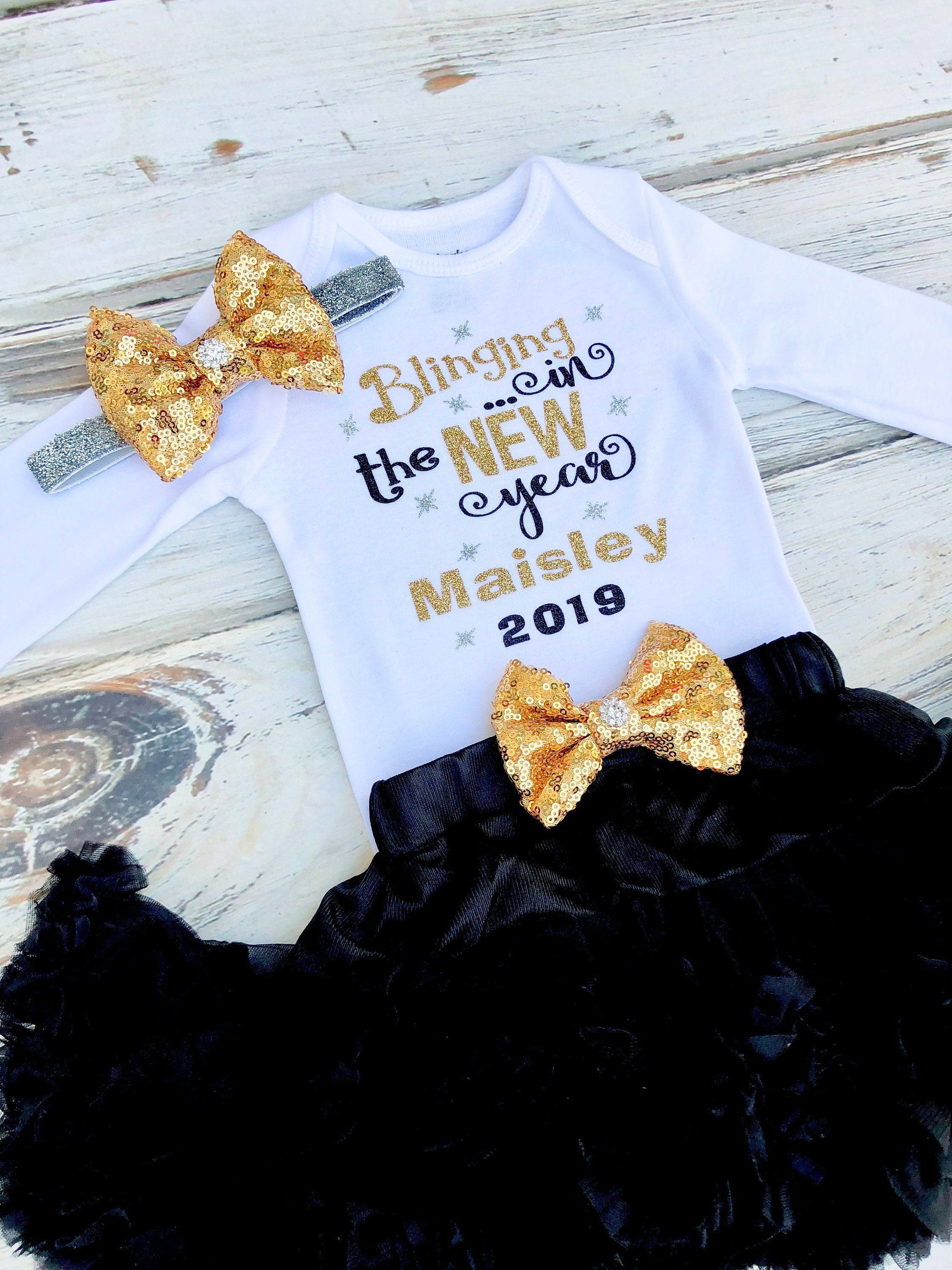 Baby Girl New Years Eve Outfit New Years Eve Dress Baby Girl Etsy In 2020 Toddler Christmas Outfit Baby Girl Dresses New Years Eve Dresses