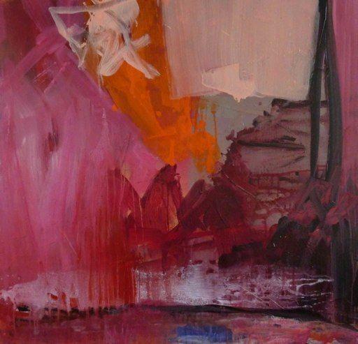 Alice Achen, Ulysse 100 cm X 100cm acrylique sur toile | Tableau ...