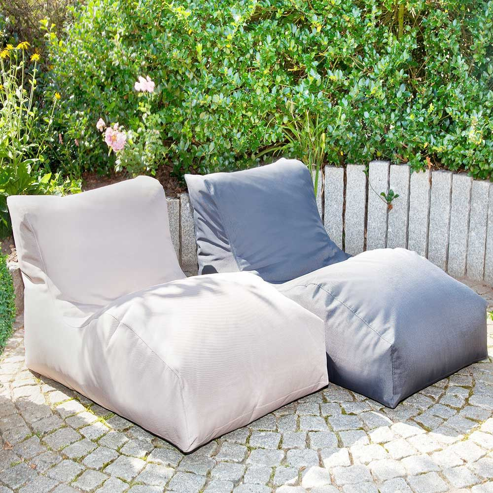sitzsack sessel calencio f r lounge outdoor meine. Black Bedroom Furniture Sets. Home Design Ideas