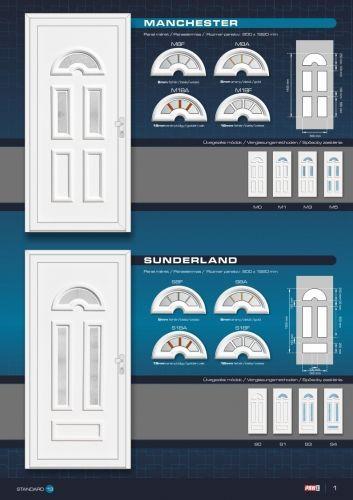 Kömmerling Plastic Entrance Door 3- Kömmerling Plastic Entrance …