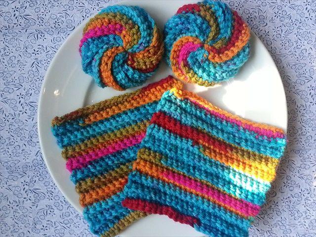 13 Dishcloths & Scrubbies Crochet Patterns | Crochet | Pinterest