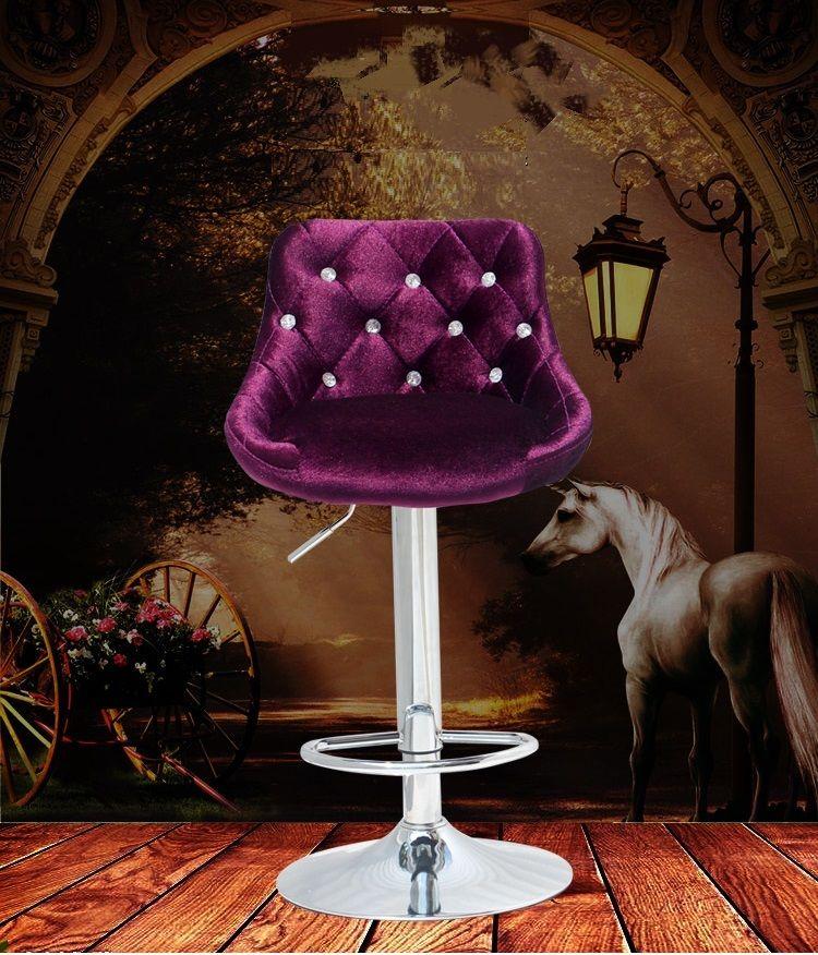 Tienda de muebles del salón de pelo de Peluquería silla negro café envío gratuito rose red diseño taburete silla de la computadora de elevación
