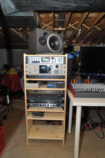 basement music studio we the ikea hackers music studio room rh pinterest com