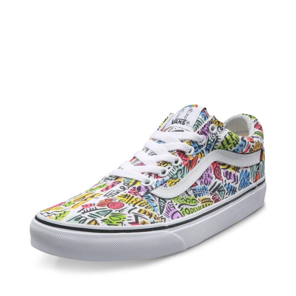 17cb04d4e Original Vans New Arrival Low Top Women s Skateboarding Shoes Sport Shoes  Canvas Shoes Sneakers free