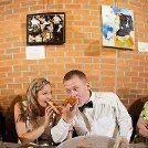 Stephanie & Zacharys budget-friendly courthouse and pizza wedding
