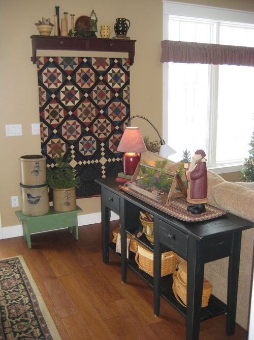 My Yellow Farmhouse Decorating With Quilts Pinterest