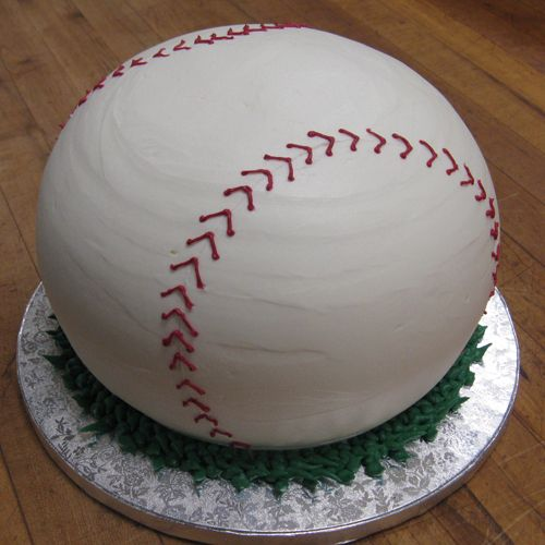 baseball cake Take me out to the ball game Pinterest Cake