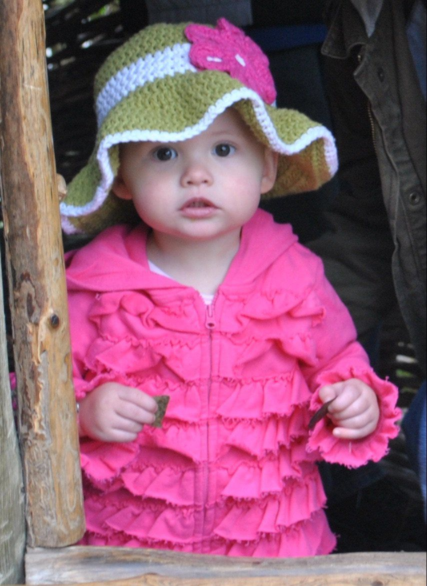 Free Summer Hats to Crochet for Kids Little Lady Sunhat