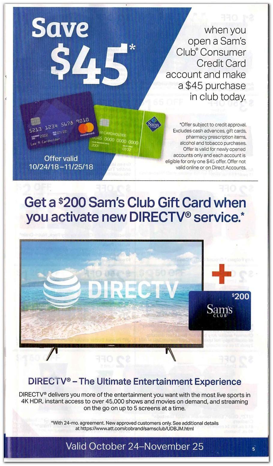 Sam S Club Featured 2018 Ads And Deals Sams Club Club Ads