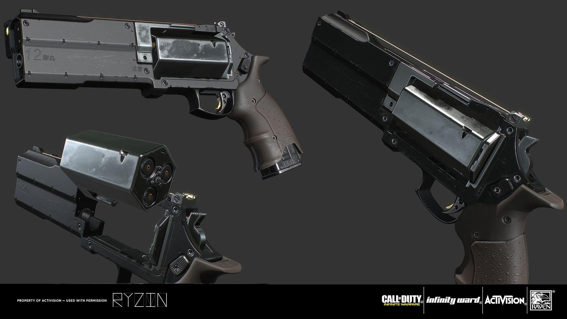 Artstation Hailstorm José Braz Fantasy Weapons Weapons Guns