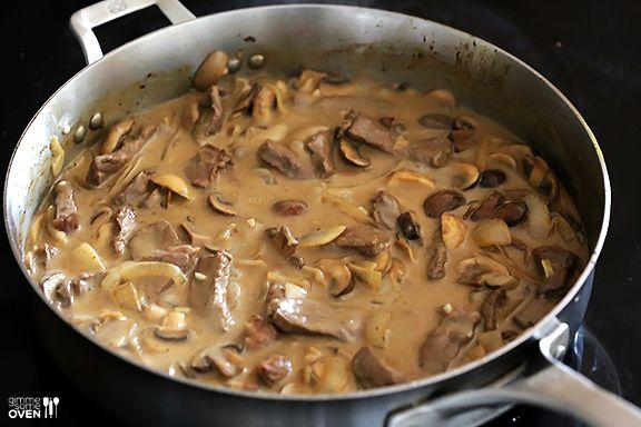 30 Minute Beef Stroganoff Recipe Stroganoff Recipe Beef Stroganoff Easy Recipes Using Beef Broth
