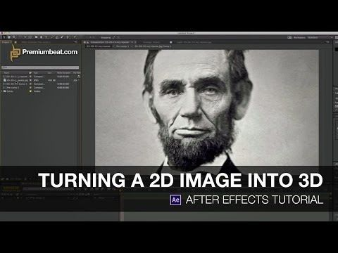 Video Tutorial: Turning a 2D Image into 3D in After Effects - YouTube