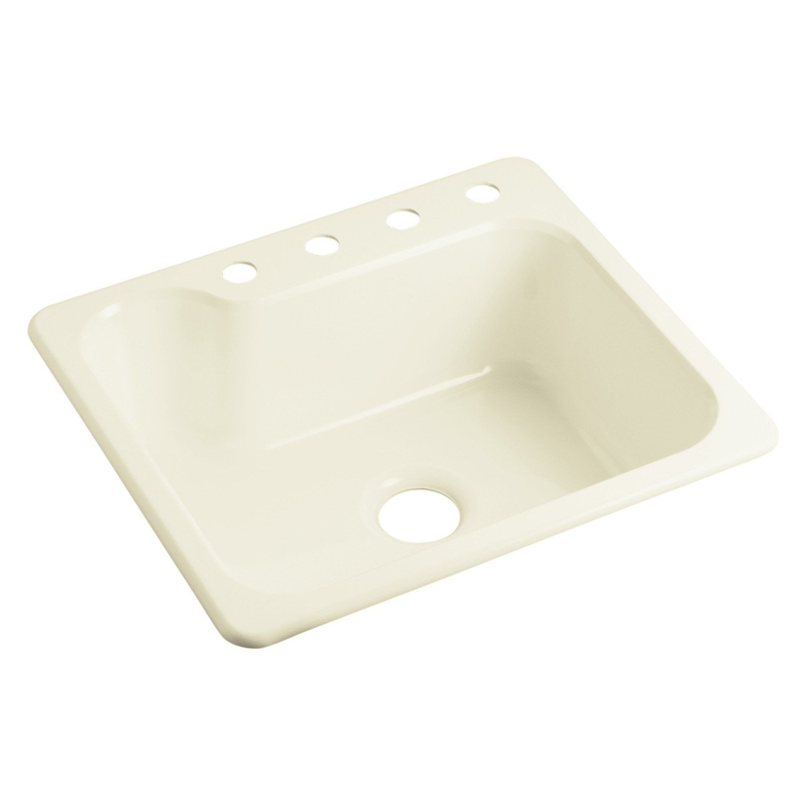 Sterling By Kohler Maxeena Sc2522sbg Single Basin Drop In Kitchen