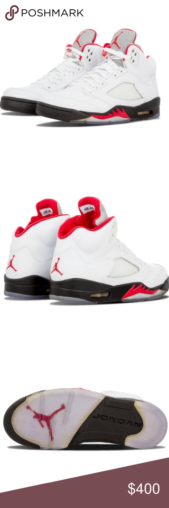 Nike Air Jordans Retro 5 V fire (Mens size 7) NWT