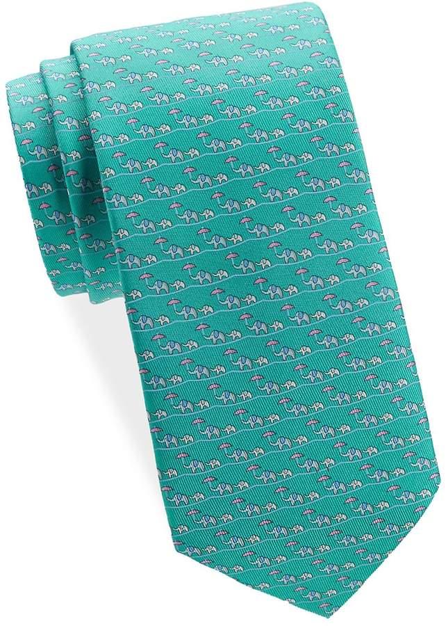 Salvatore Ferragamo Men s Elephant Silk Tie Gift Set   Gravatas ... 69a58afee7