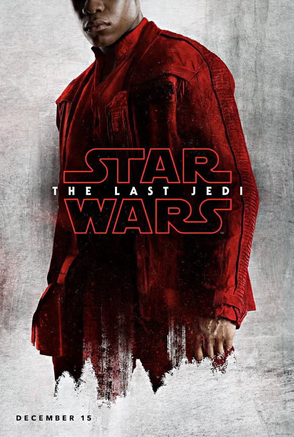 Star Wars The Last Jedi Official Character Posters Thelastjedi Starwars Finn Star Wars Watch Last Jedi Full Movies Online Free