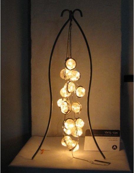 Strainer Lamp Tea Strainer Lamp With Images Diy Light