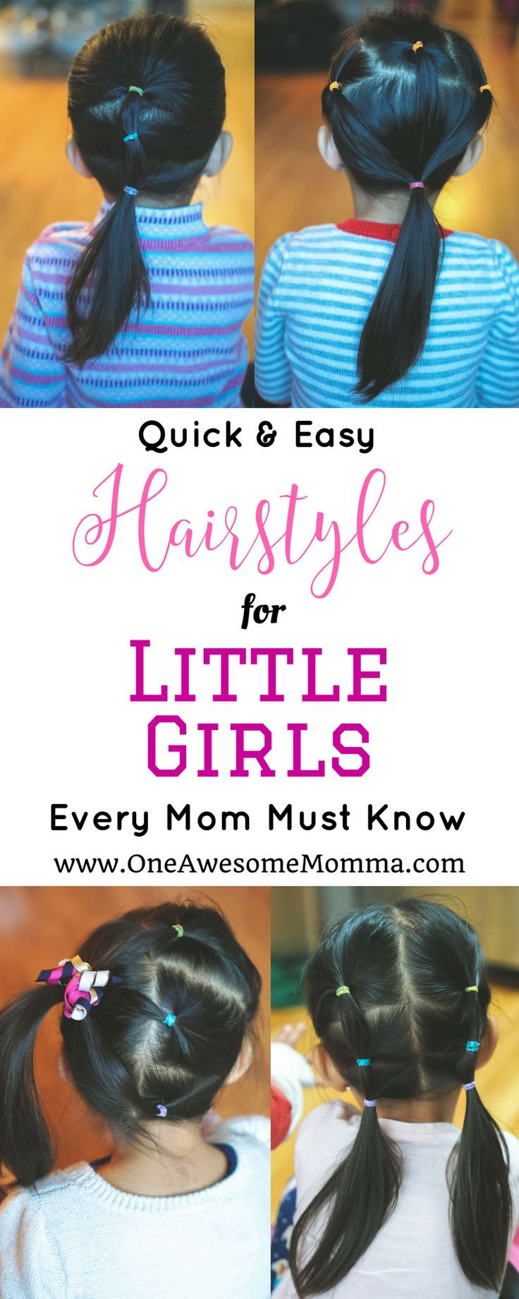 Quick u easy hairstyles for little girls quick easy hairstyles
