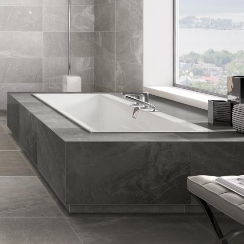 Photo of Villeroy & Boch Squaro Edge 12 rectangular bath white – UBQ190SQE2DV-01