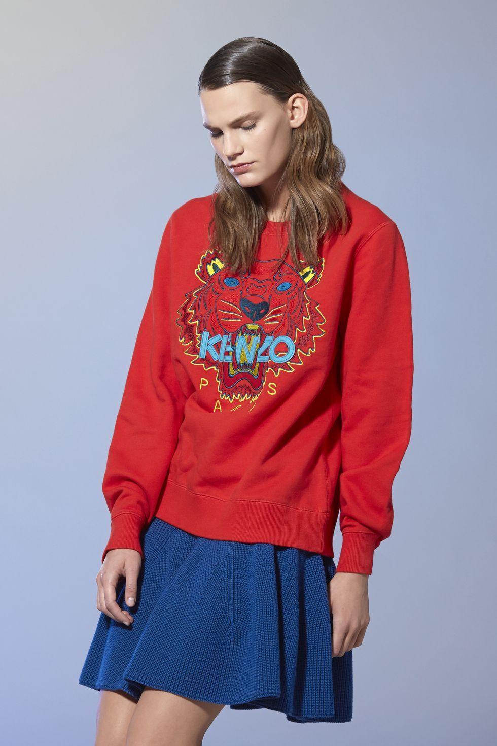 Kenzo Tiger Sweatshirt - Kenzo Sweatshirts & Sweaters Women ...