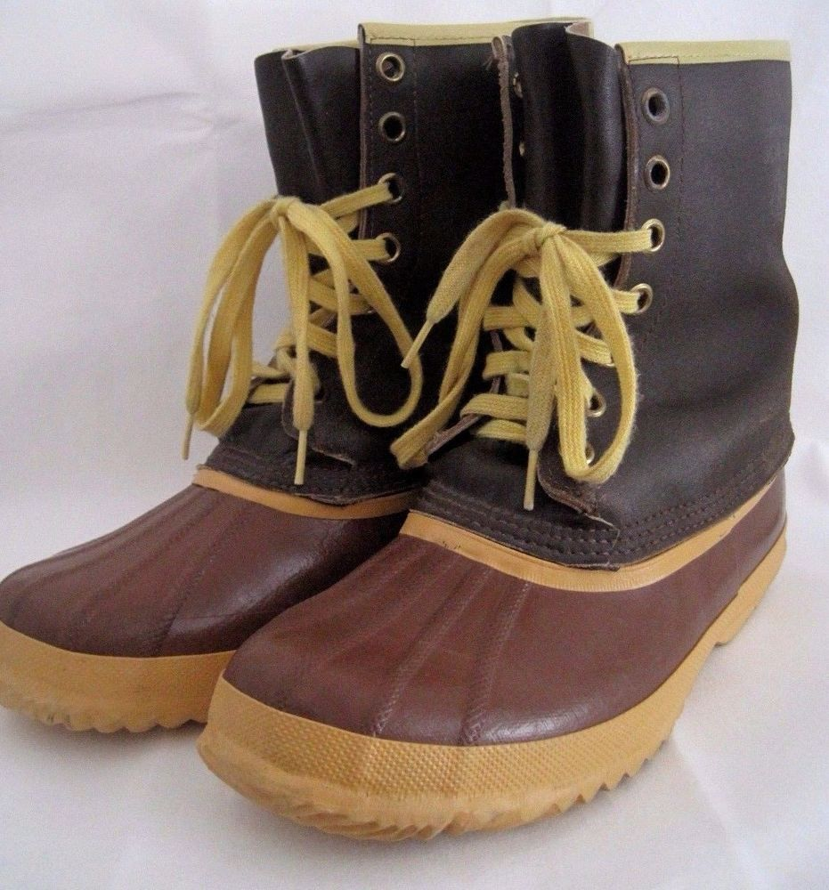 Vintage SOREL Arctic Pac Boot Snow Boots Kaufman Canada Size 9 Womens FREE  SHIP