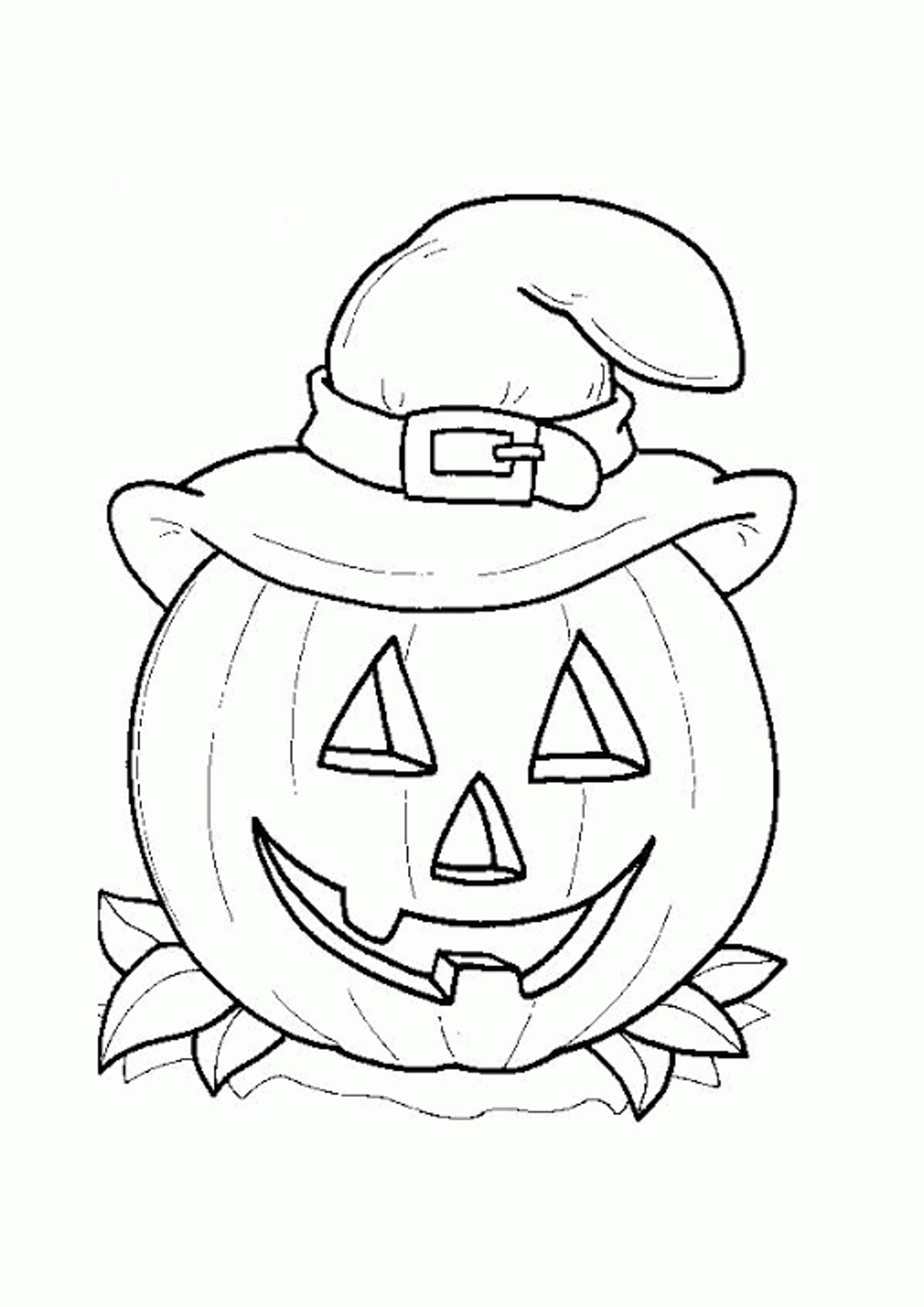 Pumpkins Coloring Pages - Yahoo Image Search Results | halw | Pinterest