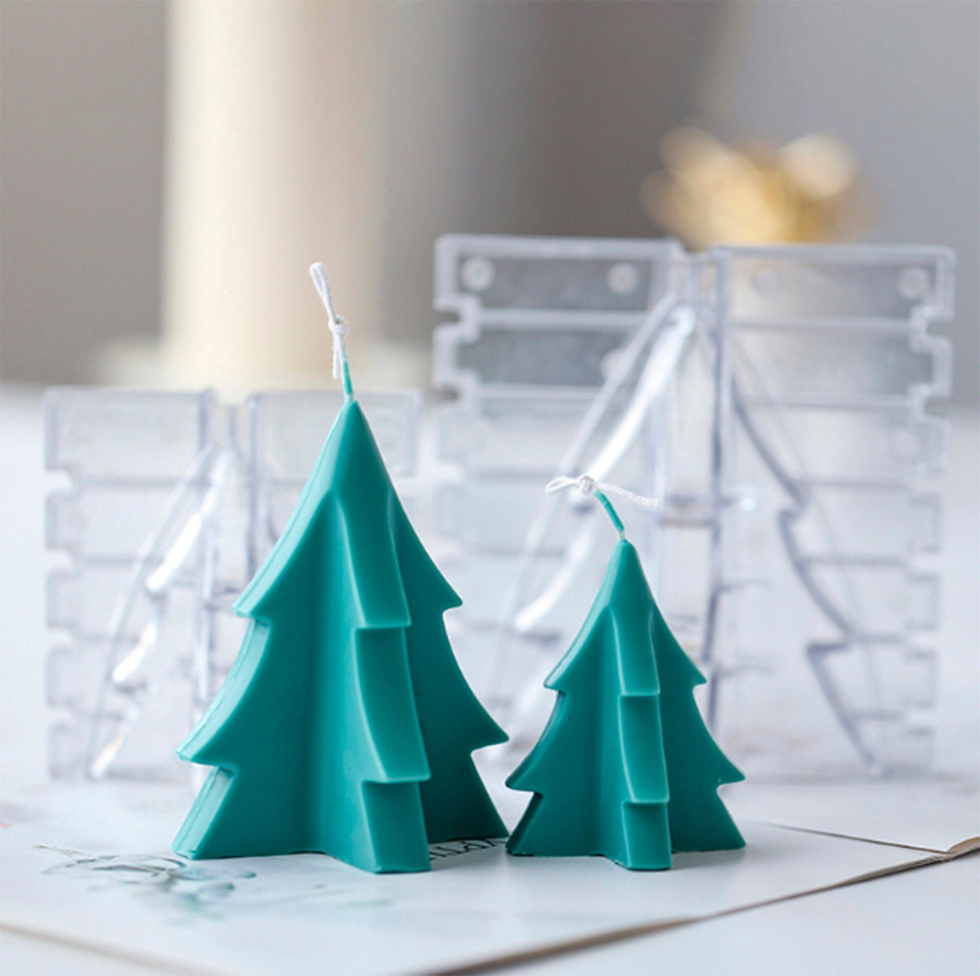 Excited To Share The Latest Addition To My Etsy Shop Diy 3d Christmas Tree Craft Art Plastic C Handmade Soap Molds Plastic Candle Molds Silicone Candle Molds