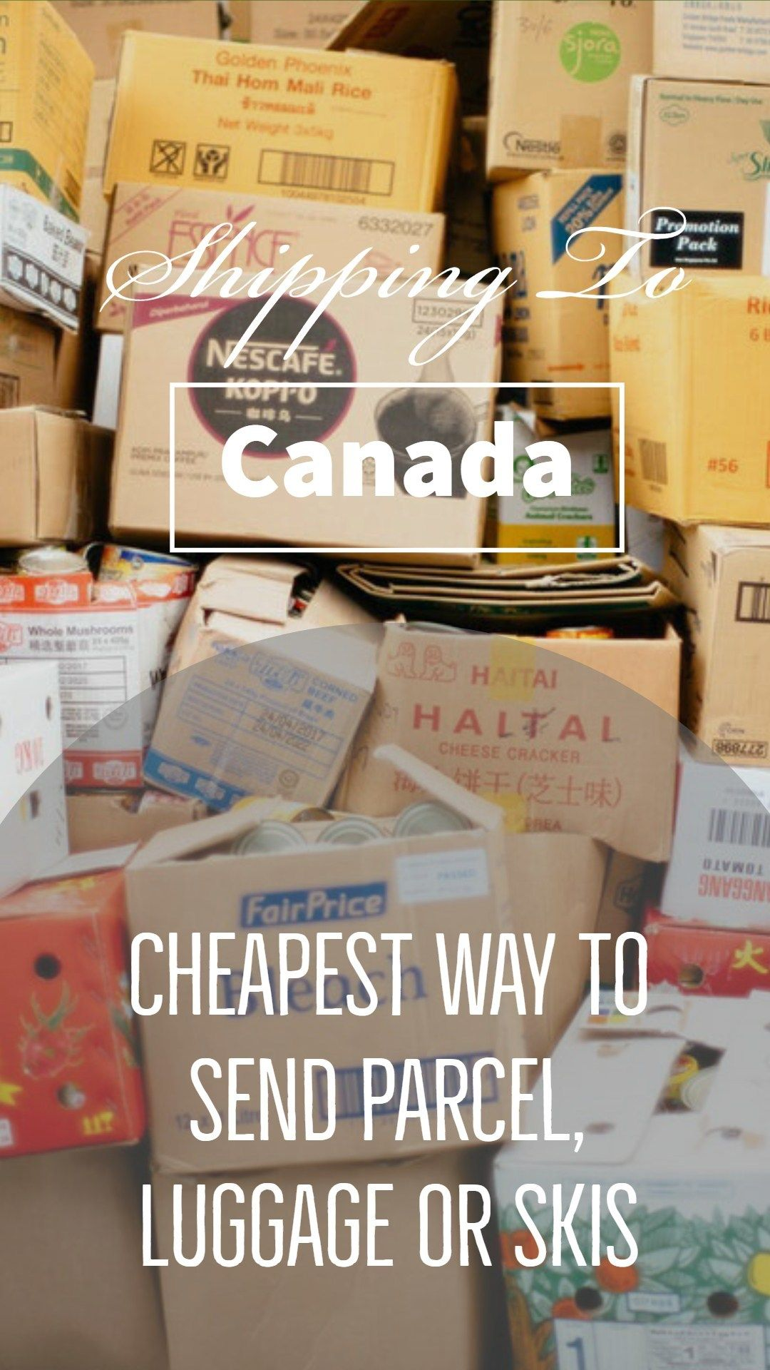 Shipping To Canada Cheapest Way To Send Parcel To Canada