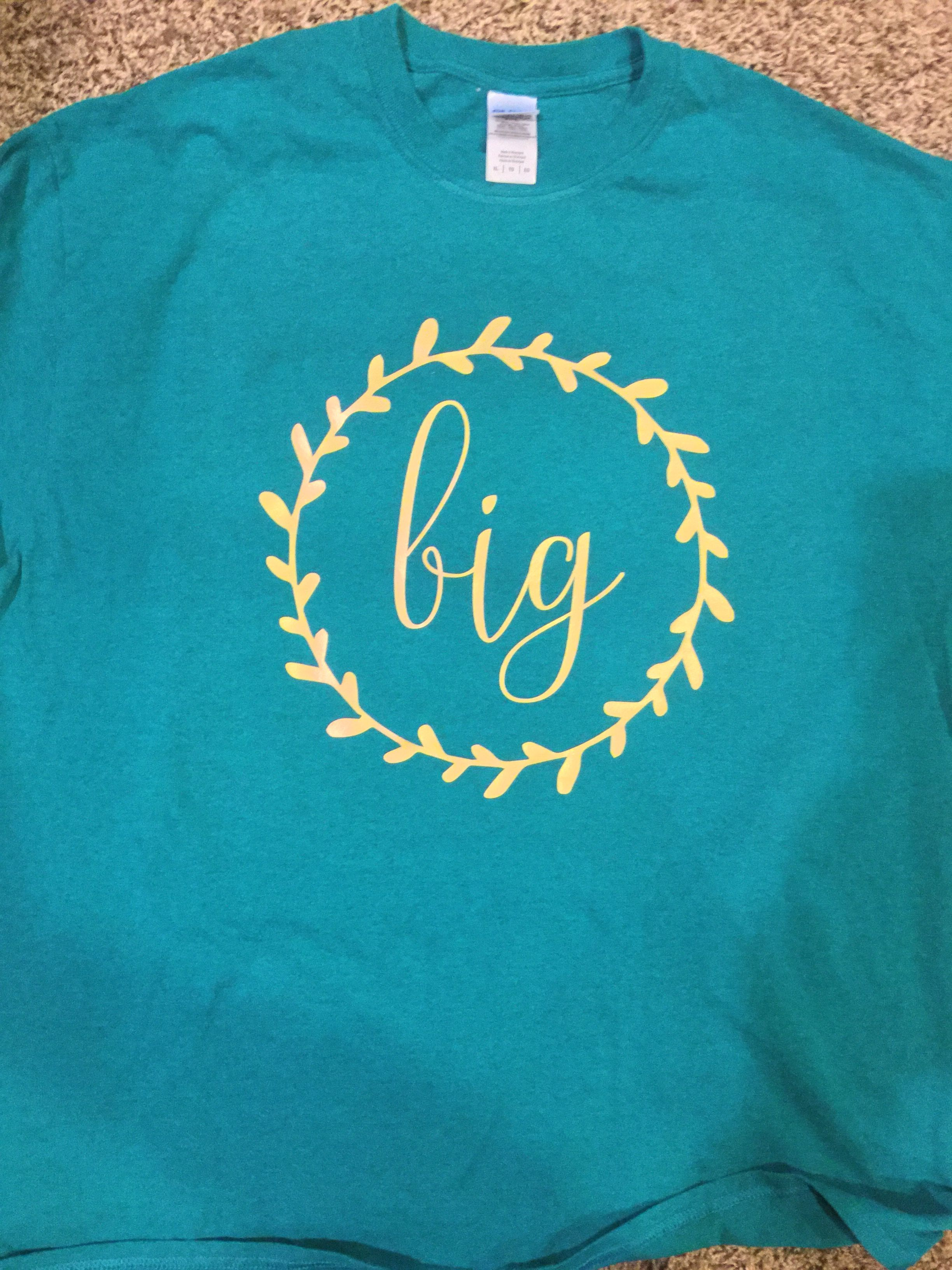 Big sorority t-shirt design